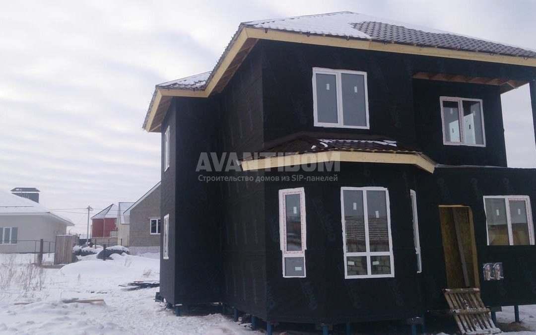 Строительство дома из СИП панелей в г. Альметьевск