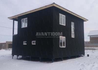 Дом из СИП-панелей в г. Альметьевск
