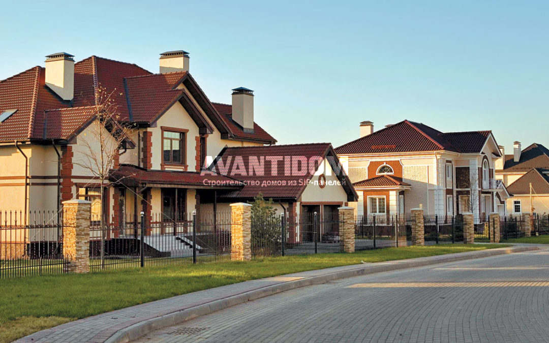Каркасные дома – экономичный и привлекательный вариант загородной недвижимости
