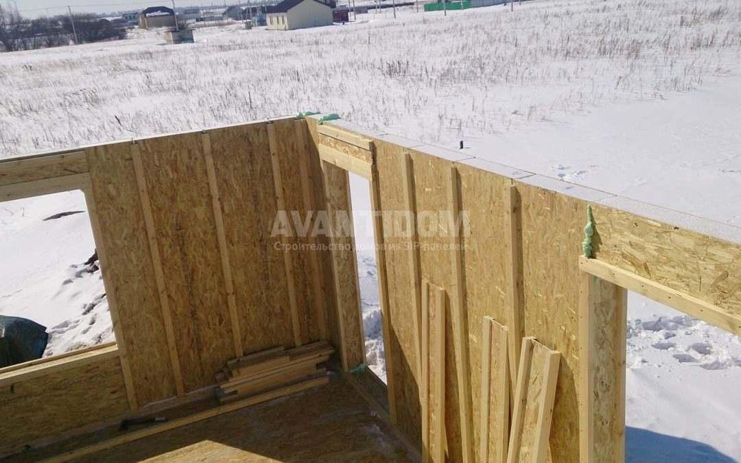 Строительство дома по технологии I-SIP п. Подсолнухи (2 часть)
