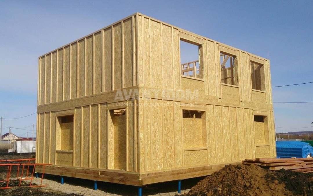 Строительство дома по технологии I-SIP п. Подсолнухи (5 часть)