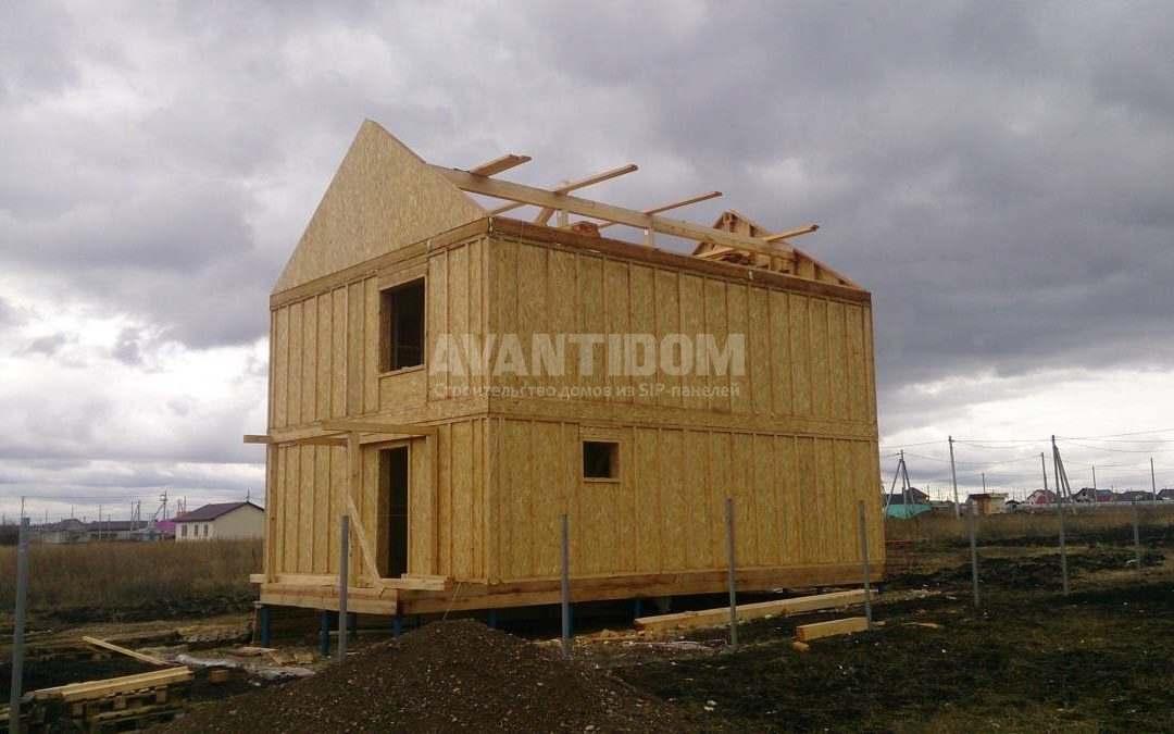 Строительство дома по технологии I-SIP п. Подсолнухи (6 часть)