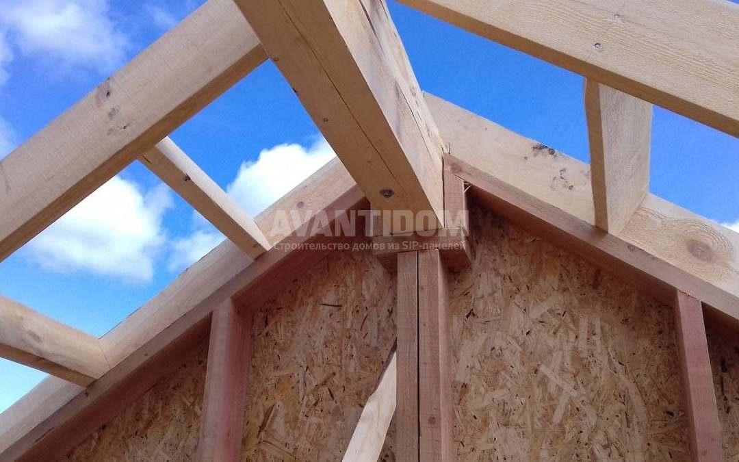 Строительство дома по технологии I-SIP п. Подсолнухи (7 часть)