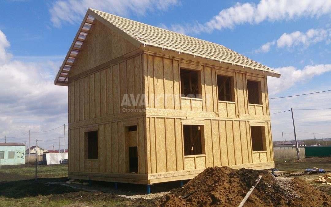 Строительство дома по технологии I-SIP п. Подсолнухи (8 часть)