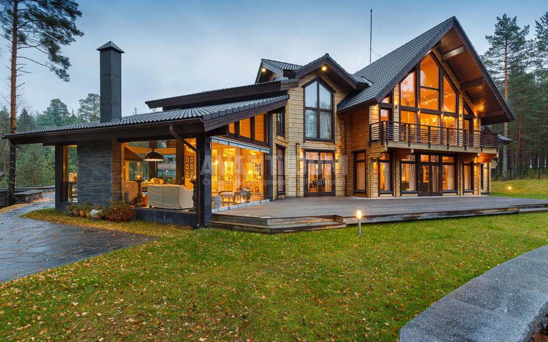 Влияние архитектуры на стоимость загородного дома