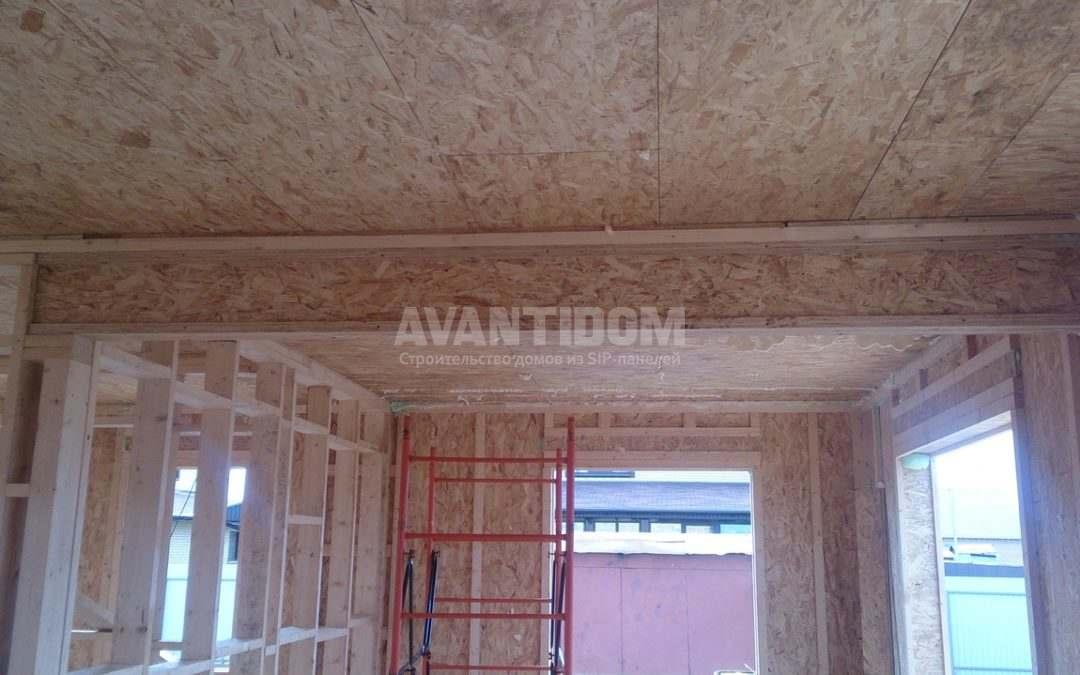 Строительство дома по технологии I-SIP п. Подсолнухи — 2 проект (5 часть)