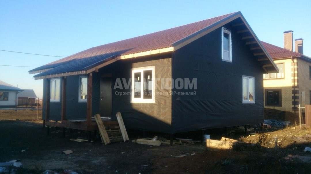 Строительство дома по технологии I-SIP п. Подсолнухи — 2 проект