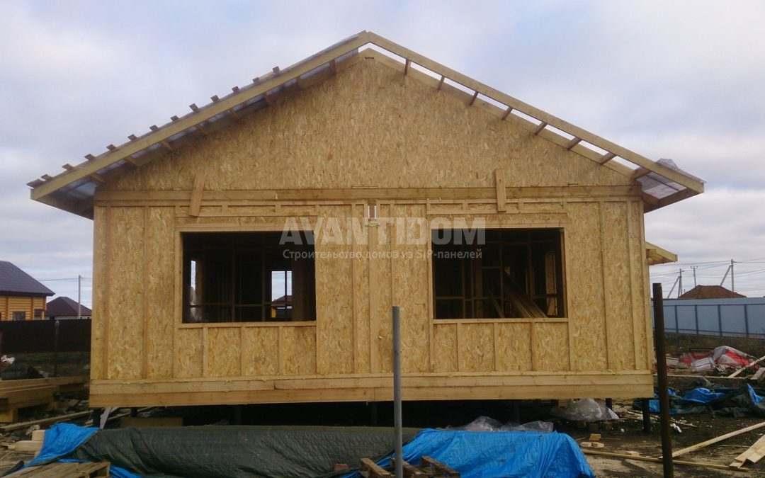 Строительство дома по технологии I-SIP п. Подсолнухи — 2 проект (6 часть)